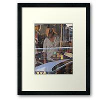 Orwell Street Antiques Framed Print