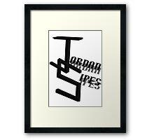 "Jordan Sipes ""Concrete Truth"" Framed Print"