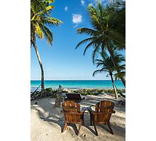 Heaven is a Place on Earth - Tulum  Photographic Print