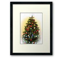 Get ready for Christmas. Framed Print