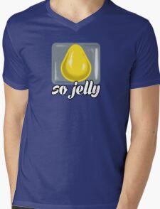 So Jelly Mens V-Neck T-Shirt