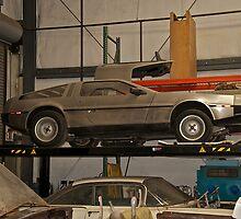 1981 DeLorean DMC-12 'Waiting for the Future' by DaveKoontz