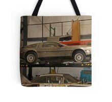 1981 DeLorean DMC-12 'Waiting for the Future' Tote Bag