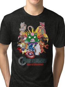 Pokevengers: Age of Mewtron Tri-blend T-Shirt