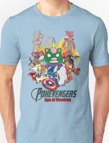Pokevengers: Age of Mewtron Unisex T-Shirt