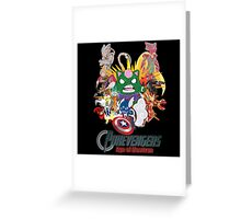 Pokevengers: Age of Mewtron Greeting Card