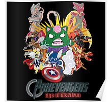 Pokevengers: Age of Mewtron Poster