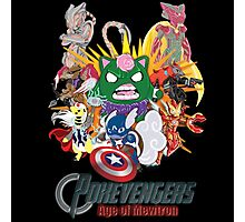Pokevengers: Age of Mewtron Photographic Print