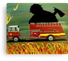 Rescuer Canvas Print
