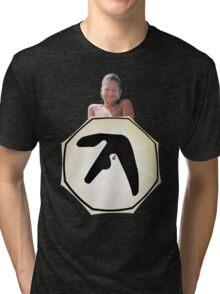 Window Licker - Aphex Twin Tri-blend T-Shirt