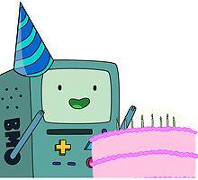 Birthday BMO by Gargusuz
