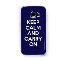 Keep Calm And Carry On Samsung Galaxy Case/Skin