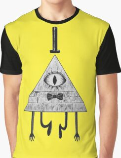 Gravity Falls' Bill Cipher Graphic T-Shirt