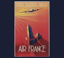 Vintage poster - Air France Kids Tee