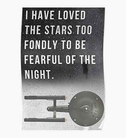 The Starship Enterprise Poster