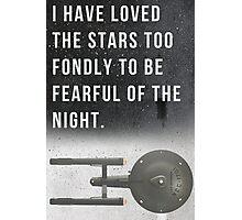 The Starship Enterprise Photographic Print