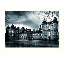 Living In The Past - Gothic Holyrood Palace Art Print