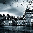 Living In The Past - Gothic Holyrood Palace by Mark Tisdale