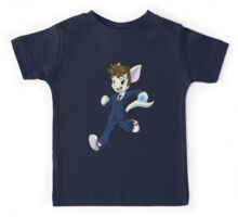 10th Doctor David Tennant Kitty Kids Tee