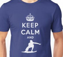 KEEP CALM AND SURF Unisex T-Shirt
