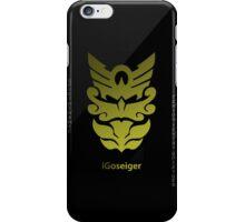 Tensou Sentai Goseiger Gold Logo iPhone Case/Skin