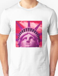 Red Liberty Unisex T-Shirt