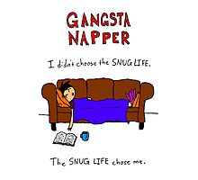 Gangsta Napper Photographic Print