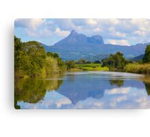 Reflections on the Tweed Canvas Print