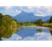 Reflections on the Tweed Photographic Print