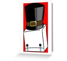 Hatty Head Greeting Card
