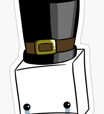 Hatty Head Sticker