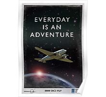 Everyday is an Adventure Poster