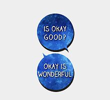 okay is wonderful. by fadedrecords
