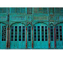 Green Facade Chiang Mai Photographic Print