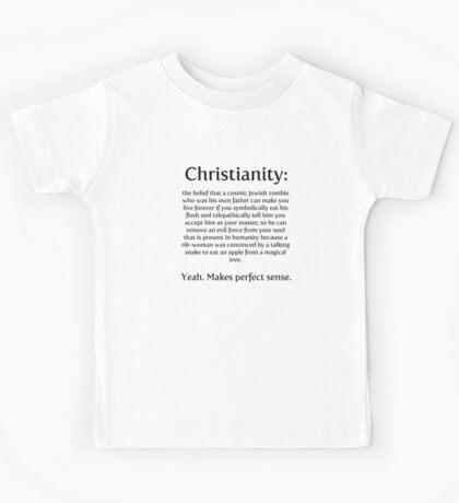 Christianity - cosmic jewish zombie Kids Tee