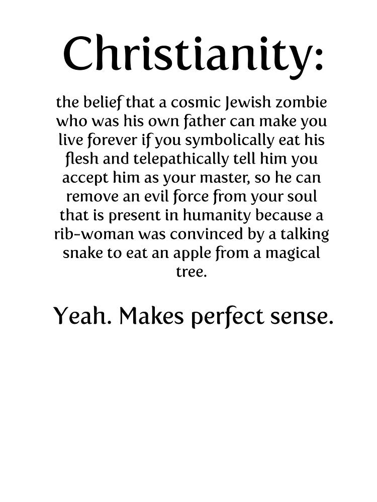 Christianity - cosmic jewish zombie by paulparkinson