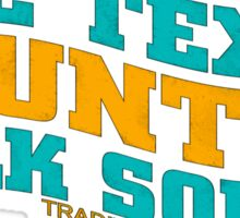 The Texas Country Sticker