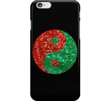 ugly christmas yin yang iPhone Case/Skin