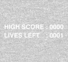 High Score - T Shirt One Piece - Long Sleeve