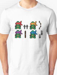 Teenage Pixel Ninja Turtles T-Shirt