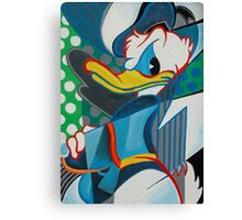 donald abstract Canvas Print