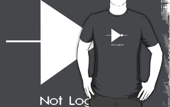 Not Logical  - T Shirt by BlueShift