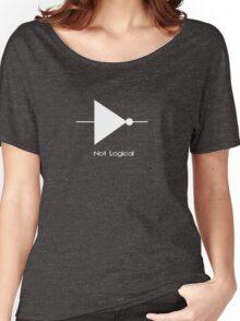 Not Logical  - T Shirt Women's Relaxed Fit T-Shirt