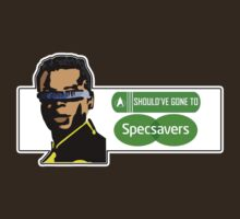 Geordie LaForge: Should've Gone to Specsavers T-Shirt