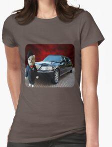 Teddy Bear Limousine Chauffeur Kids (CHILDRENS) Tee Shirt Womens Fitted T-Shirt