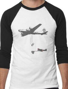 Funny WW2 Enola Gay  Men's Baseball ¾ T-Shirt