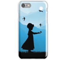 Childhood dreams, Feeding Time, Phone Case iPhone Case/Skin