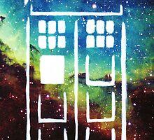 Tardis Galaxy by Jessie Smart