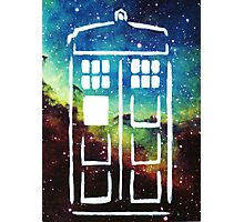 Tardis Galaxy Photographic Print