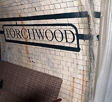 The Torchwood Hub - The Torchwood Stop Sign by simonbreeze
